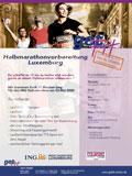 Flyer PDF Vorbereitungskurz Halbmarathon ING Luxembourg